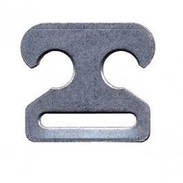Ankerhaken Kunststoff grau (10 Stück)