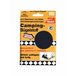 Camping-Bügelstoff