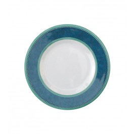 Gimex Camping-Geschirr Set Melamin Marble Blau