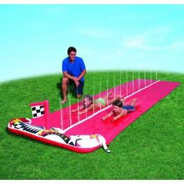 Doppel Wasserrutschbahn für Kinder