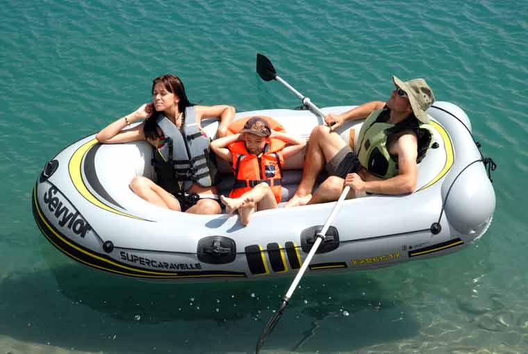Sevylor SuperCaravelleXR86GTX-7 - ein Schlauchboot für jede Menge Spaß