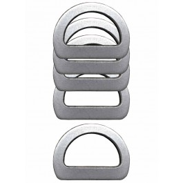 Halbrundringe aus Aluminium