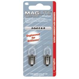 Ersatz-Glühlampen MagLite Stablampen 2C / 2D