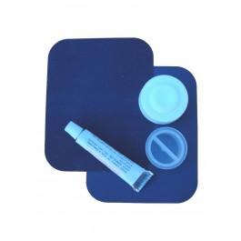 Reparatursortiment für Velour-Betten Dunkel-Blau