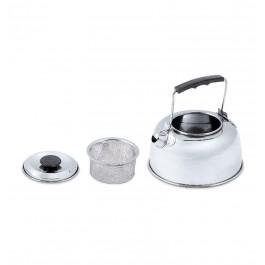 Wasserkessel mit Teesieb aus Edelstahl