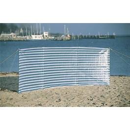 Windschutz  komplett mit Zeltheringen und Abspannleinen