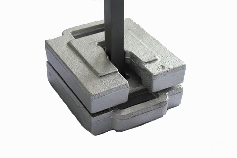 Gewichte Für Pavillon : gewichte set f r falt pavillons 2 x 10 kg ~ Watch28wear.com Haus und Dekorationen