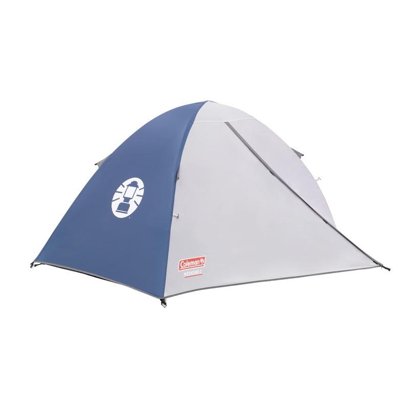 Zelt Weekend Discovery 5 : Campingzelt coleman weekend baayaa