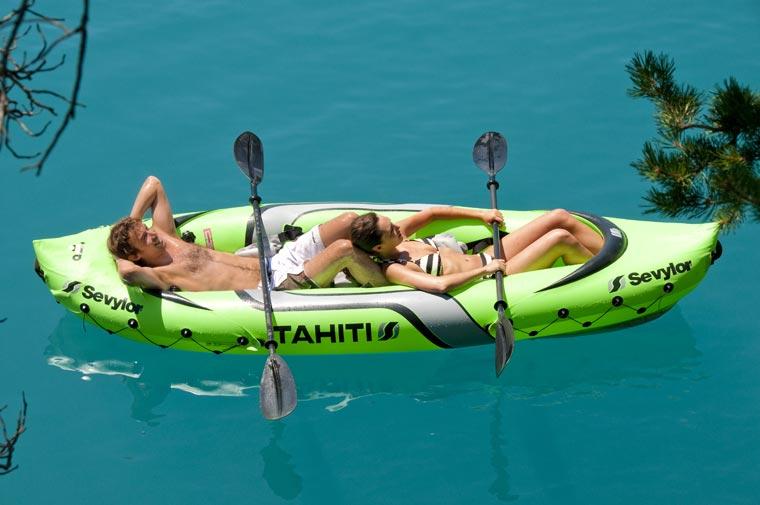 Kajak Tahiti - einfache Bedienung und viel Spaß;